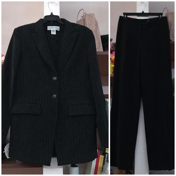 Jones New York Dresses Womens Pinstripe Suit Poshmark